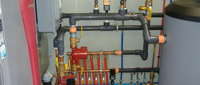 منابع تامین کننده حرارت سیستم گرمایش از کف