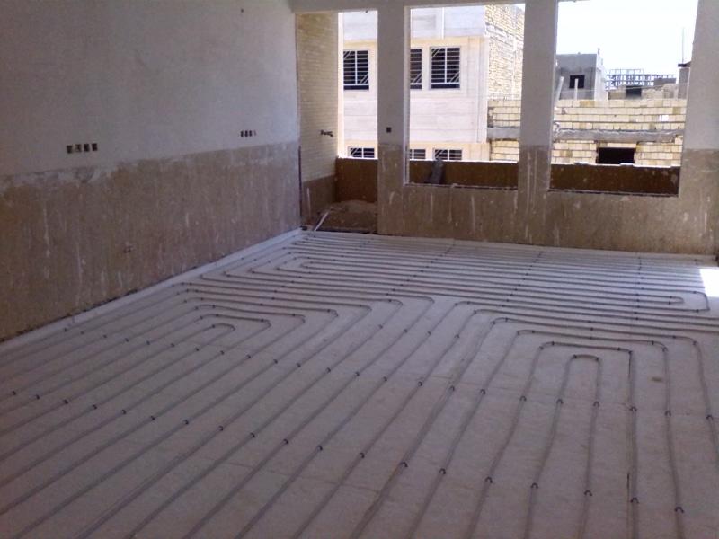 نمونه کار گرمایش از کف 201