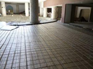 نمونه کار گرمایش از کف مشهد