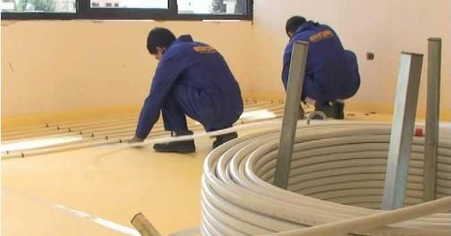چگونگی اجرای گرمایش از کف