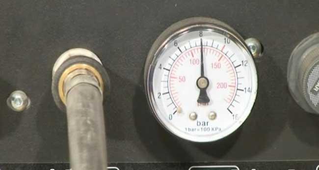 تست گرمایش از کف