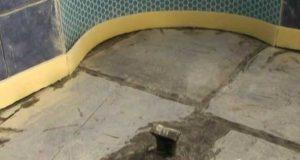 عایق کردن دیوار گرمایش از کف
