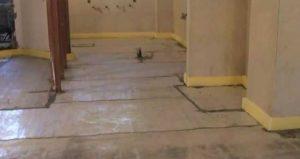 مراحل نصب عایق گرمایش از کف